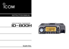 Buy Icom ID-1 ENG Operating Guide by download Mauritron #314570