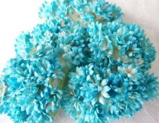 Buy 100 Mulberry Paper Flower Mini Embellishment Craft Scrapbook Decoration Dai 1 cm