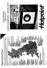 Buy Hotpoint Electronic 800 Plus 9514 Washer Operating Guide by download Mauritron #30753