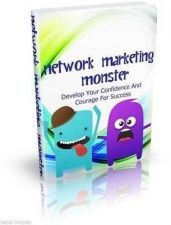 Buy NETWORK MARKETING MONSTER - GUIDE FOR SUCCESS - EBOOK RESELL RIGHTS PDF