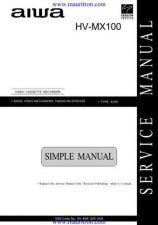 Buy Aiwa HVMX100 Manual by download Mauritron #324864