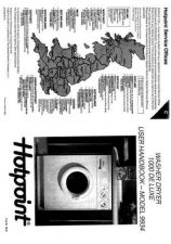 Buy Hotpoint 9934 Washer Operating Guide by download Mauritron #307457