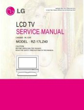 Buy LG RZ-17LZ40 Service Manual by download Mauritron #322536