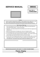 Buy Hitachi 42PMA300a_42PD300tc Service Manual by download Mauritron #287975