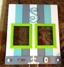 Buy Custom Made Complete Wall Art and picture frames. 8x10 double opening.