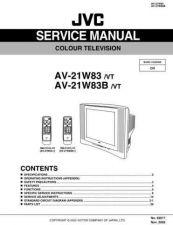 Buy JVC AV-21W33 schem Service Manual by download Mauritron #279661