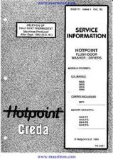 Buy Hotpoint 9xxx series 2 by download Mauritron #315490