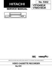 Buy Hitachi VTMX4410AC Service Manual by download Mauritron #285919