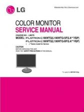 Buy LG 36713679(L196WTQ-S_BFQ_E)_3 Manual by download Mauritron #303696