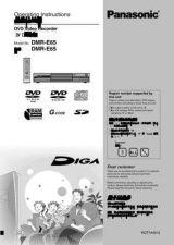 Buy Panasonic DMR-E60 Manual by download Mauritron #298939