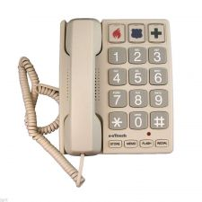 Buy big number button Cortelco ez TOUCH 2400 telephone phone large Braille eztouch