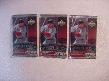 Buy 3 (three) new 1999 UPPER DECK series 2 baseball PACKs - new retail
