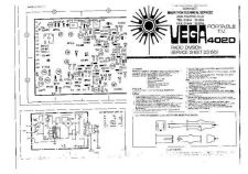 Buy Vega 402D Mono TV Service Manual by download Mauritron #328071