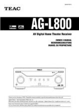 Buy Teac AGL800EGF Operating Guide by download Mauritron #318313