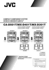 Buy JVC CA-D301 401 501 2 Service Manual by download Mauritron #281343