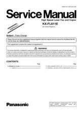 Buy Panasonic FL611E-PFQX2133ZA-ENGLISH Manual by download Mauritron #299222