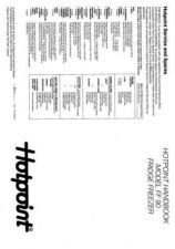 Buy Hotpoint FF90 Refrigeration Operating Guide by download Mauritron #313639