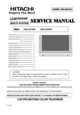 Buy Hitachi C50LD7000l(C60LD7000)_2 Service Manual by download Mauritron #288725