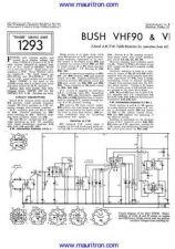 Buy BUSH VHF90 Wireless Service Manual by download Mauritron #326418