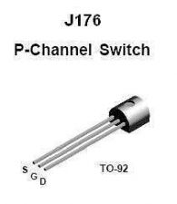 Buy Transistor - J176 P-FET (TO-92) - 8 Pieces