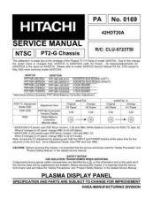 Buy Hitachi CLU-5723TSI Service Manual by download Mauritron #288918