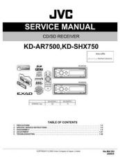 Buy JVC KD-SHX750 part Service Manual by download Mauritron #282281