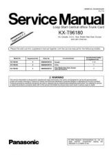 Buy Panasonic T96180C_M_X_SUP4-5 Manual by download Mauritron #301805