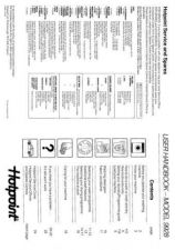 Buy Hotpoint 9928 Washer Operating Guide by download Mauritron #307456