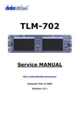 Buy Datavideo TLM433 Service Manual by download Mauritron #324961