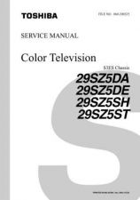 Buy Toshiba 29SZ5 TV Service Manual by download Mauritron #323028