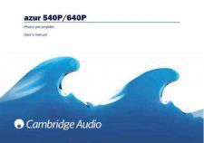 Buy Cambridge Audio Azur540P-640PUserManual-English by download Mauritron #311815