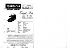 Buy Hitachi VM8500LA Service Manual by download Mauritron #291017