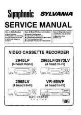 Buy Symphonic 2945LF Service Manual by download Mauritron #331024