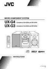 Buy JVC UX-G3-11 Service Manual by download Mauritron #284197