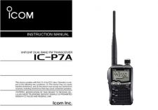 Buy Icom ICP7A Operating Guide by download Mauritron #314561