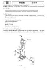 Buy Hitachi M8SA2 Tool Service Manual by download Mauritron #320065