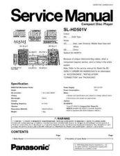 Buy Sharp SL-HD501V Manual by download Mauritron #298563