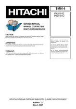 Buy Hitachi P42H401A Service Manual by download Mauritron #290529