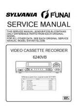 Buy Magnavox 6240VB Service Manual by download Mauritron #330777