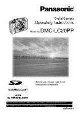 Buy Panasonic DMC-LC1SG Manual by download Mauritron #298829