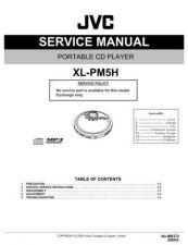 Buy JVC XL-PM5H Service Manual by download Mauritron #277289