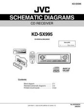 Buy JVC KD-SX995_sch Service Manual Circuits Schematics by download Mauritron #275312