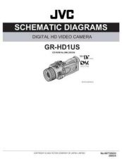 Buy JVC GR-HD1 SCHEM Service Manual by download Mauritron #279300