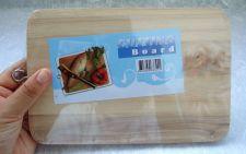 Buy MINI WOODEN CHOPPING CUTTING BOARD CAMPING PICNIC PARTY 100% Natural FREE SHIP