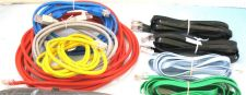 Buy 25 ordinary internet modem plug computer cords cables bunch box of full wires