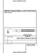Buy Harman AVR507 Manual by download Mauritron #307328