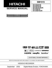 Buy Hitachi DV-DS161E(UK) Service Manual by download Mauritron #289855