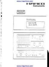 Buy Hameg 408 Manual by download Mauritron #326523