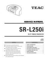 Buy Teac SR-L230i Service Manual by download Mauritron #319544