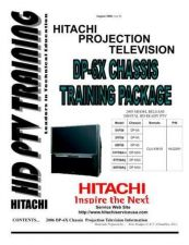 Buy Hitachi DP-3M Chassis Service Manual by download Mauritron #323164
